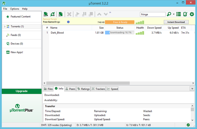 تحميل برنامج يو تورنت للكمبيوتر برابط واحد مباشر