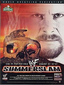 WWE / WWF - Summerslam 1999 - Event poster