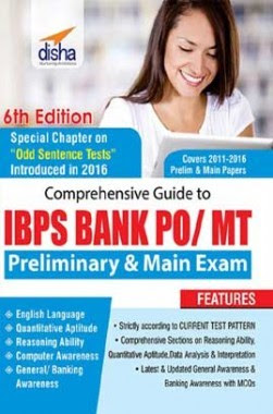 Comprehensive Guide To IBPS PO/MT Prelim + Main Exam by Disha Publication pdf free download