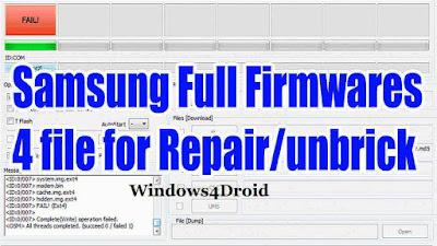 Repair Firmware (4Files) Galaxy C7 Pro SM-C710F