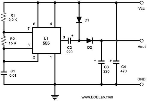 Voltage Doubler Circuit - The Circuit