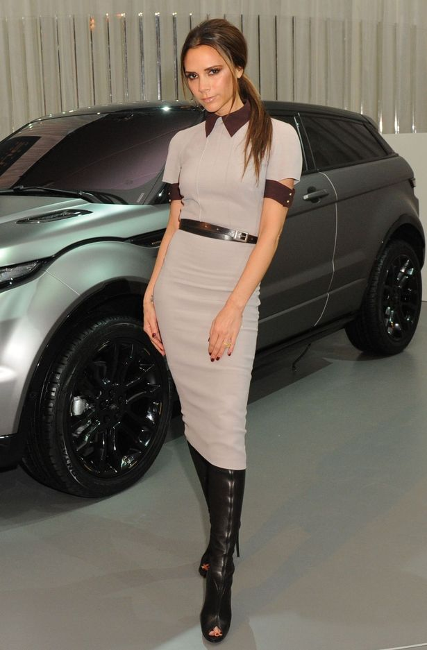 Land Rover Design Director, Gerry McGovern put Victoria Beckham on a Blast Over  Claims she designed a Range Rover for David