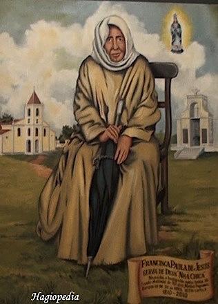 Resultado de imagen para Beata Francisca de Paula de Jesús