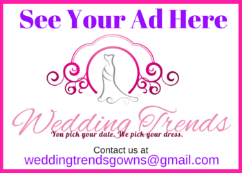 Want your advert on this spot? Contact Wedding Trends now