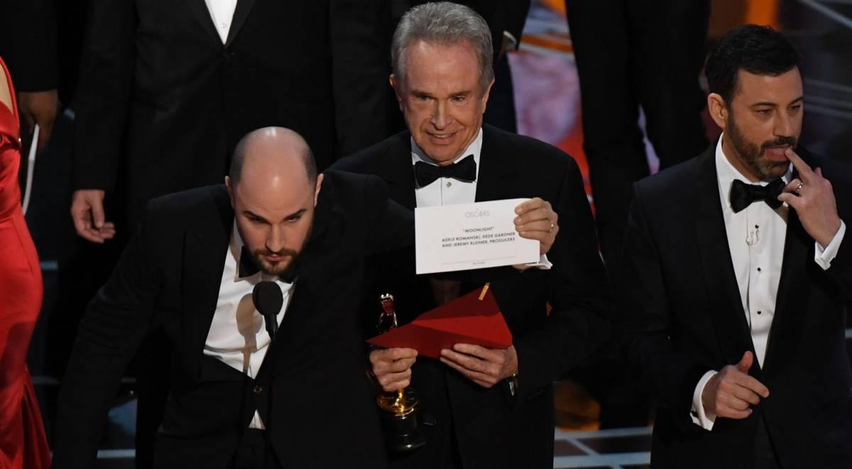 Premios Óscar 2017 y el error que dejó a La la land sin Oscar, ya que Moonlight fue la ganadora de Mejor Película | Ximinia