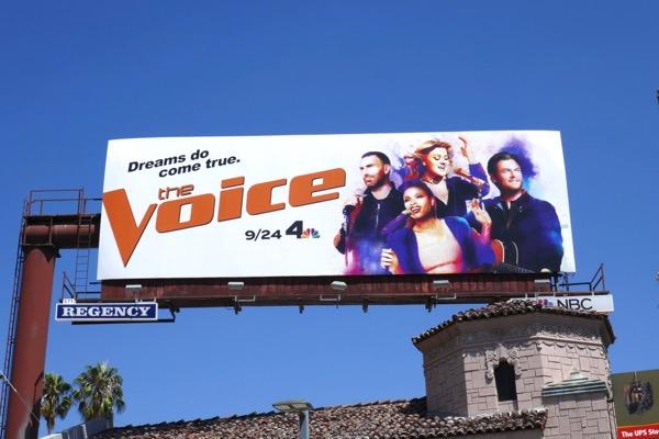 Voice season 15 billboard