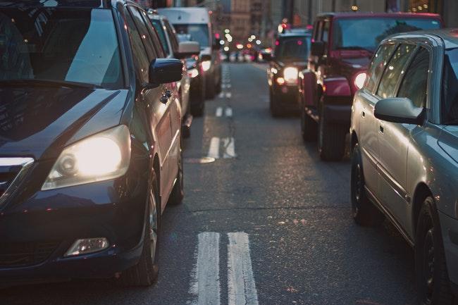 traffic, city traffic