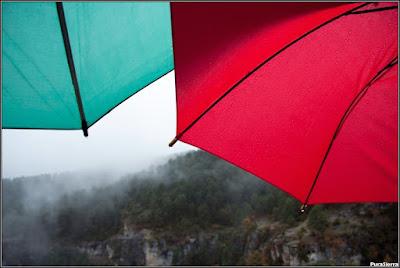 Paraguas sobre El Hosquillo