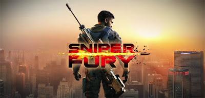 لعبة Sniper Fury مهكرة للاندرويد رابط مباشر