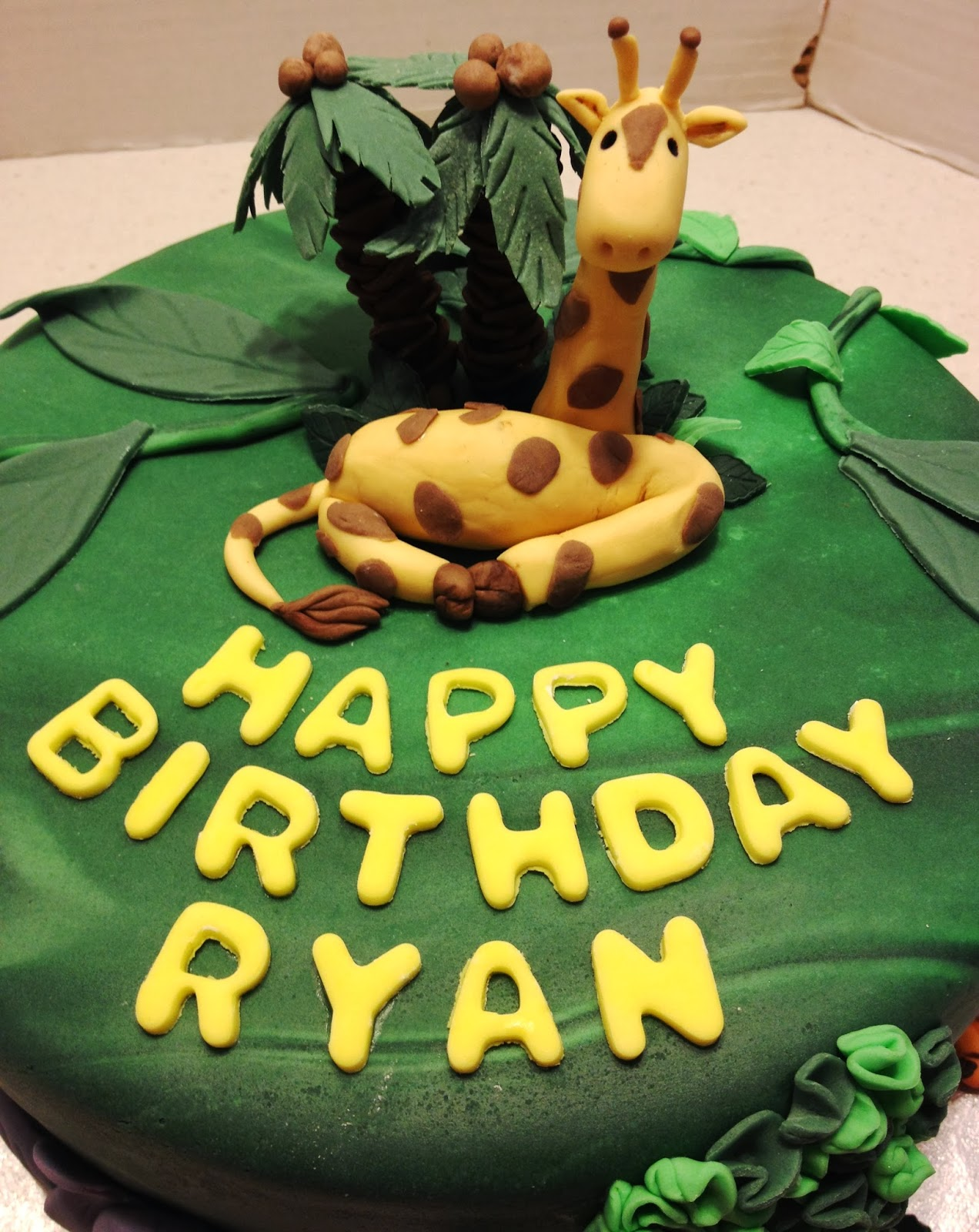 Marymel Cakes Ryan S Jungle Birthday