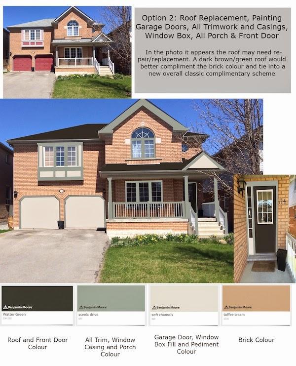 Peach Brick House Exterior Paint Ideas Home Painting