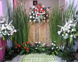 dekorasi kembang setaman