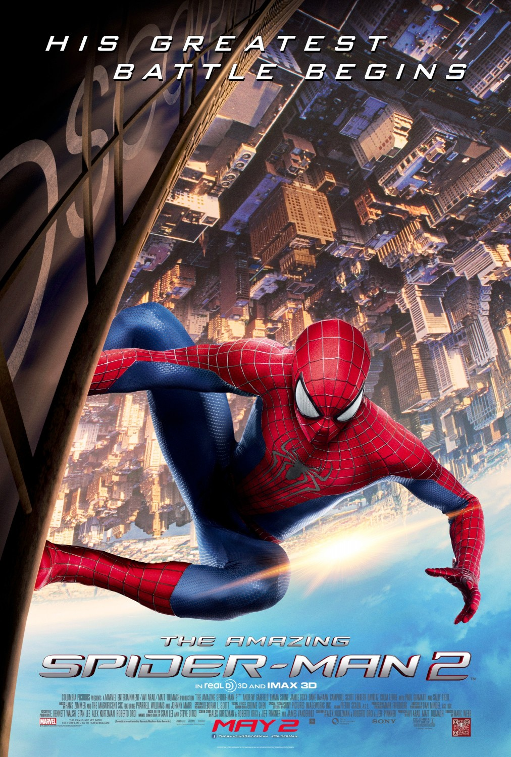 """Movie Review: """"The Amazing Spider-Man 2"""" (2014)"""