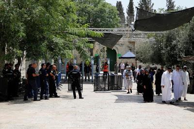 Israel aumenta a vigilância na Esplanada das Mesquitas