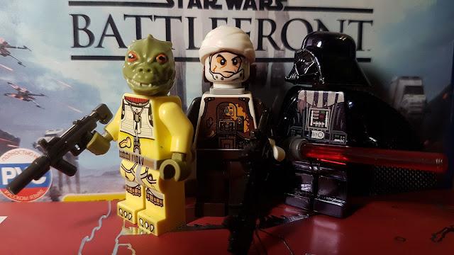 Bossk, Dengar, Darth Vader, Battlefront, Star Wars