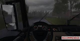 ets 2 heavy rain mod v2.1