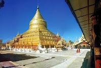 Shwezigon Pagoda Platform