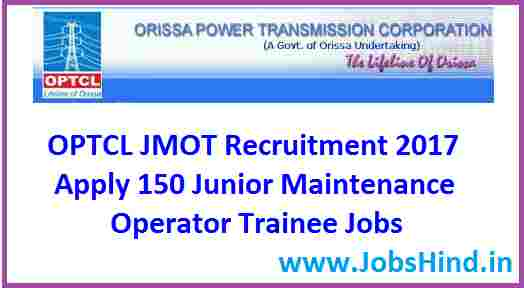 OPTCL JMOT Recruitment 201