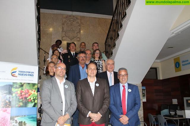El Cabildo acogió el acto oficial del Día de la Memoria y Solidaridad con las víctimas del conflicto armado en Colombia