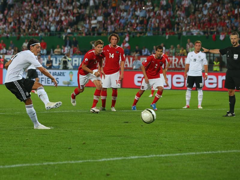 Gol Tunggal Ozil Menangkan Jerman