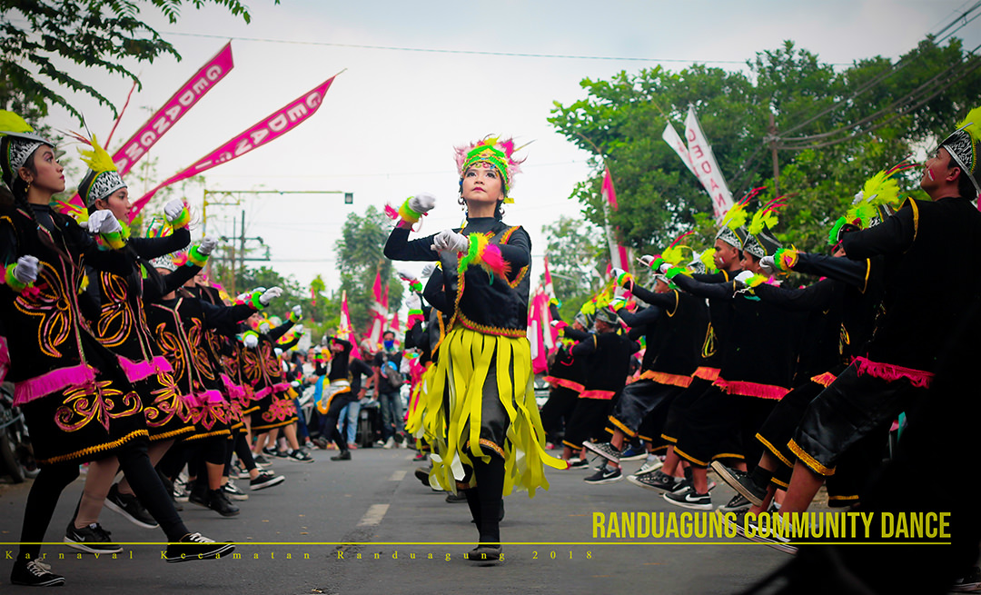 Karnaval Kecamatan. Randuagung 2018
