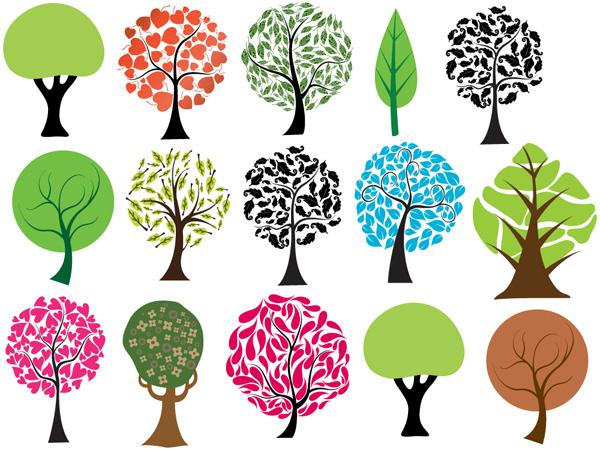 Interesantes Brushes De árboles Para Phoshop