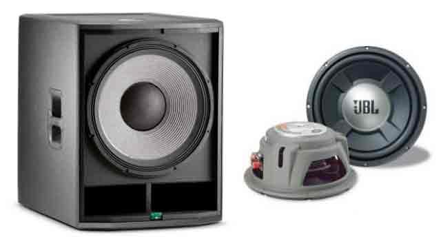 Speaker Subwoofer Transduser