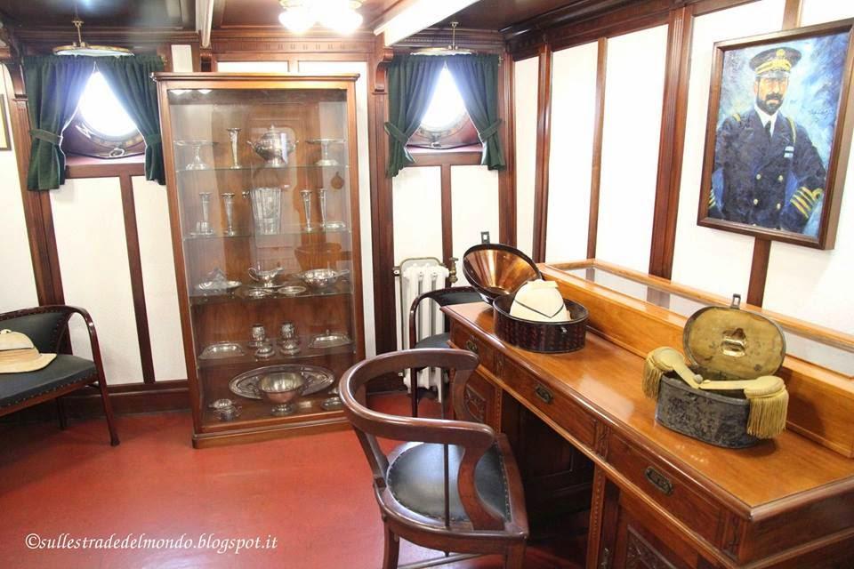 La cabina del comandante