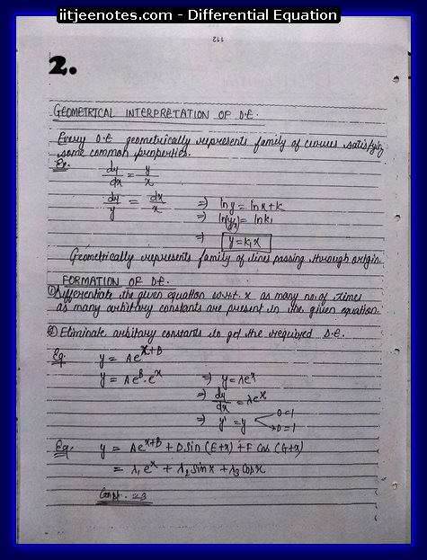 differential equation1