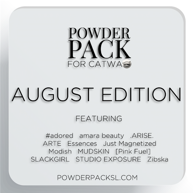 Powder Pack August Catwa