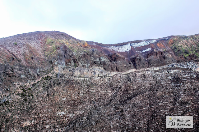 Krater Wulkanu Wezuwiusz