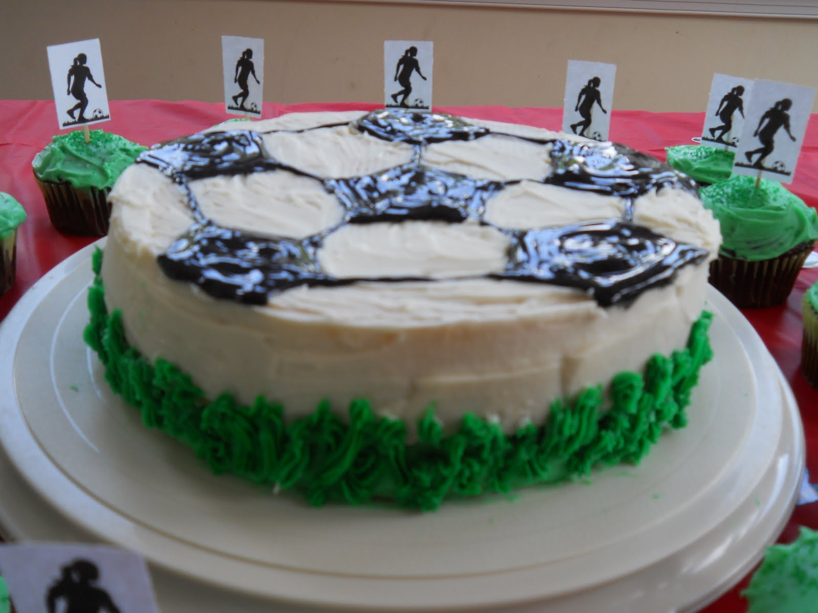 Wilton Soccer Ball Cake Pan Baking Directions