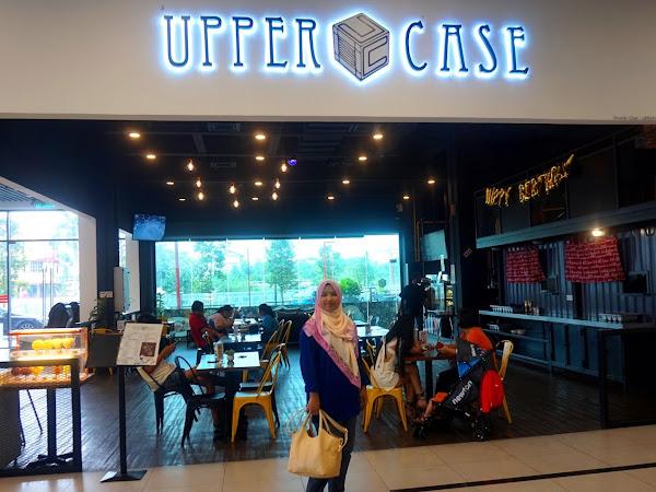 Uppercase Bistro,Amerin Mall : Lepak Santai Menu Sedap
