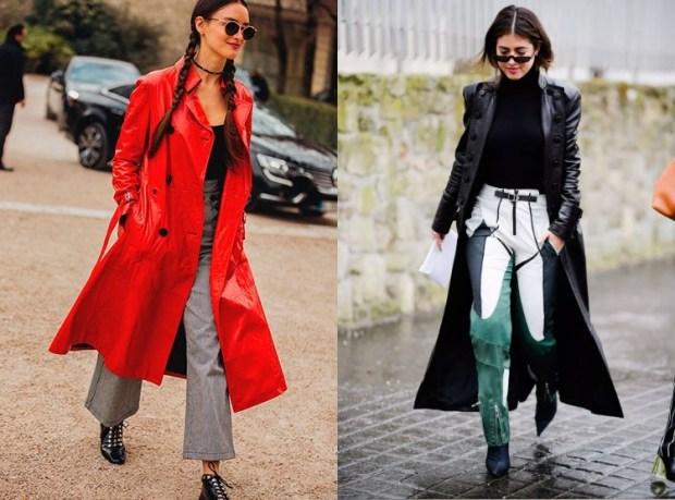 Women's Leather Fashion Coats 2019