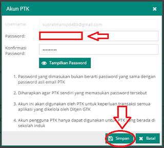 Cara Membuat Akun PTK Pada Aplikasi Dapodik 2018.b