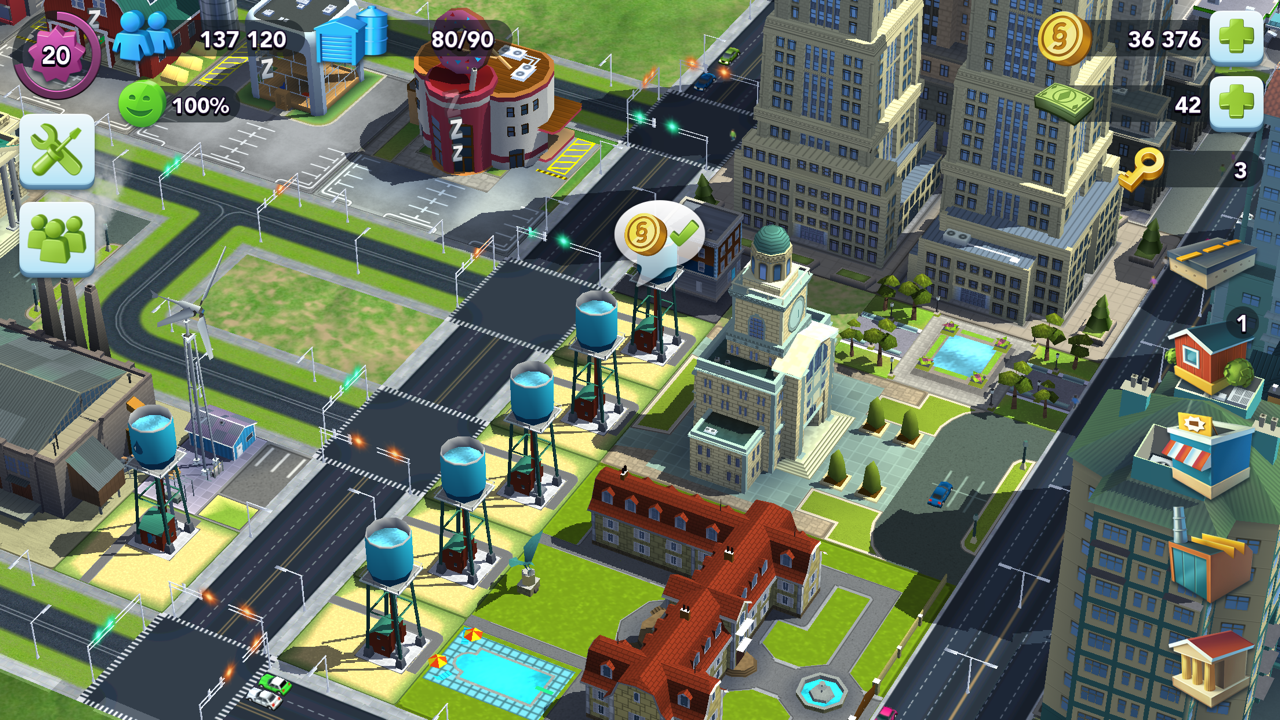 "SimCity BuildIt ""Tokyo Town"" Update - Better Visuals & Sound"