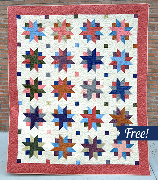 The Ribbon Star Quilt Free Tutorial