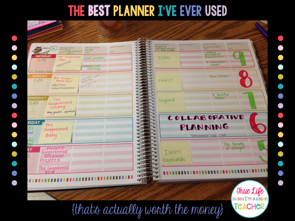 The Best Planner I 39 Ve Ever Used True Life I 39 M A Teacher