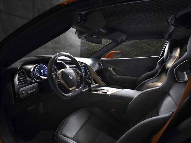 Chevrolet Corvette ZR1 Interior