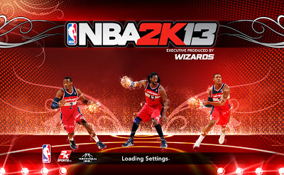 NBA 2K13 Washington Wizards Loading Screen Mod