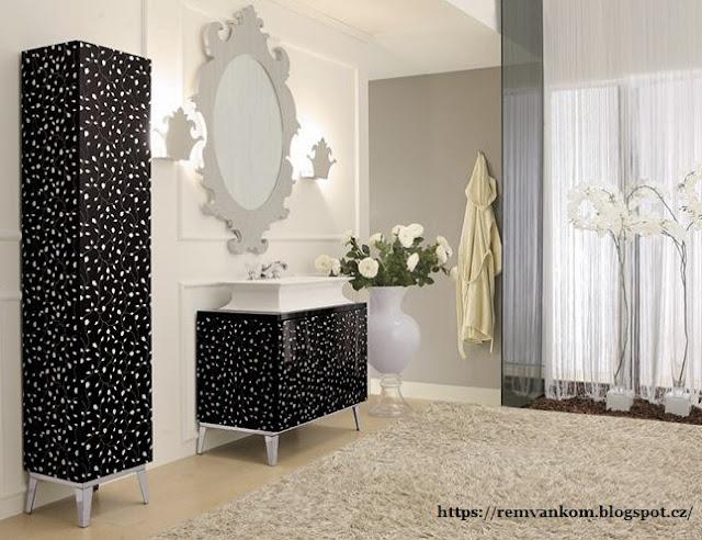 Экстравагантные ванные комнаты для смелых сияют красками и шокирующими формами