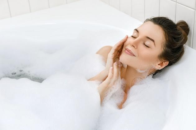 Μία ώρα ζεστού μπάνιου λειτουργεί σαν γυμναστική