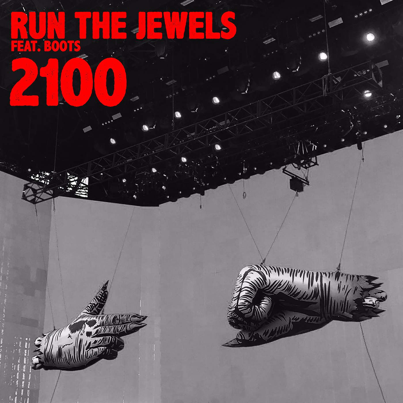 Run The Jewels - 2100 (feat. BOOTS) - Single Cover