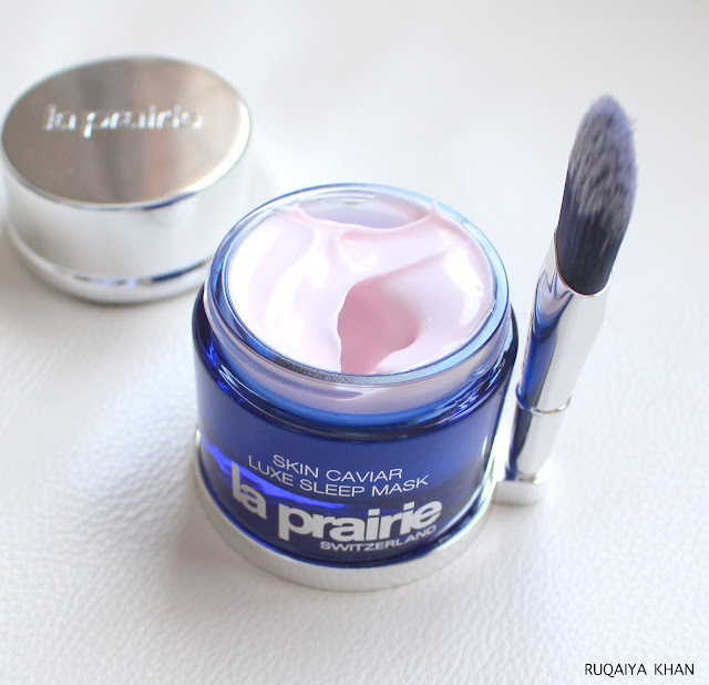 LA PRAIRIE Skin Caviar Luxe Sleep Mask Review