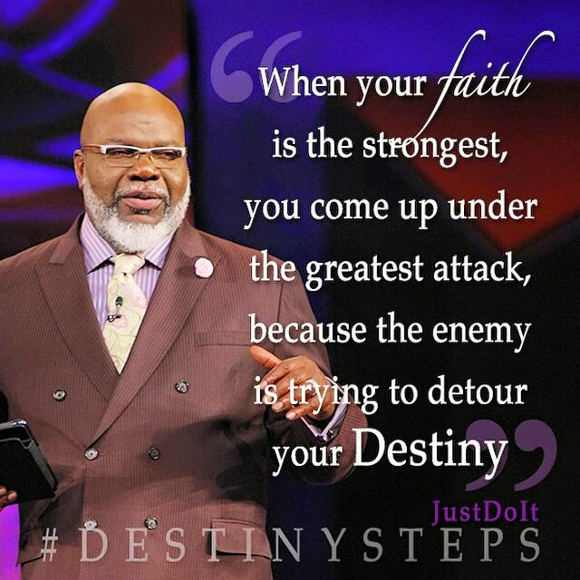 T D Jakes Quotes: Bishop TD Jakes Potters House