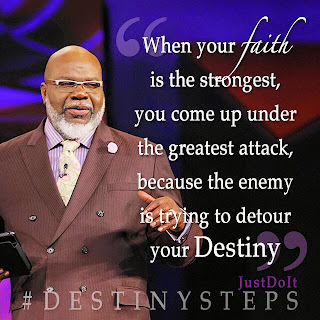 Bishop TD Jakes Potters House - Word for Today Daily Devotional