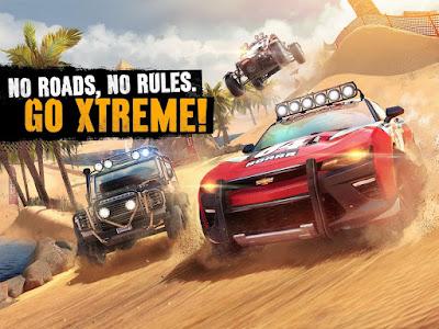 Tampilan Game Asphalt Xtreme