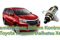 DTC P0505/71 Sistem kontrol Idle Malfungsi Toyota Avanza/Daihatsu Xenia