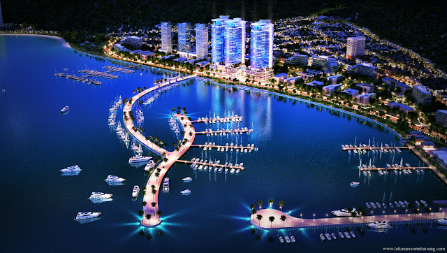 Phối cảnh dự án căn hộ Laluna Resort Nha Trang