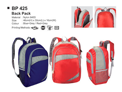 supplier backpacks